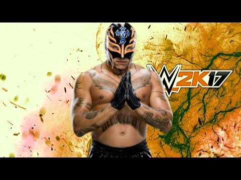 WWE 2K17 - REY MYSTERIO SIGNATURES + FINISHERS