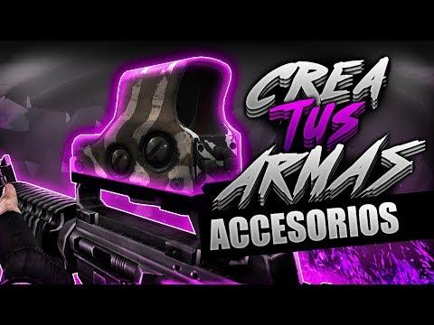 Crea Tus Armas Para CS 1.6 | Adherir Accesorios
