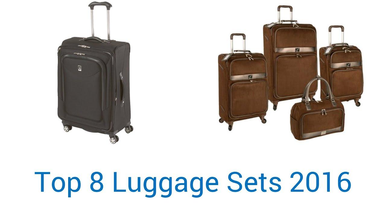 8 Best Luggage Sets 2016 - YouTube