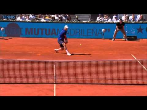 Top Hot Shot By Nadal, Dimitrov, Thiem in Madrid 2014