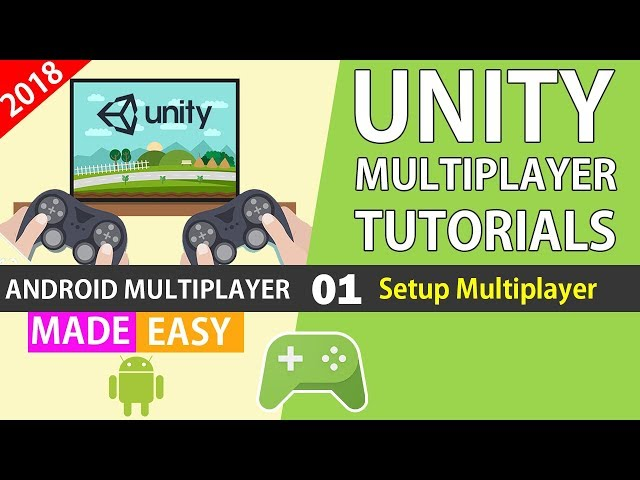 Unity Realtime Multiplayer Google Play Game Services (01