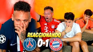 BAYERN 1-0 PSG ¡FINAL DE LA CHAMPIONS LEAGUE! *mi padre se mete con NEYMAR*