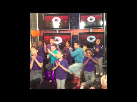 Global Community Charter School with Nick Cannon on NBC Red Nose Day Dance-a-thon