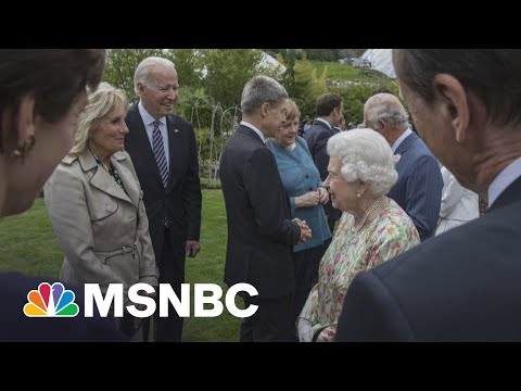 President Biden Became 13th U.S. President To Meet Queen Elizabeth