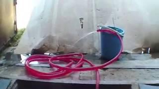 Самодельный ручной водяной насос из металлолома. часть 1.