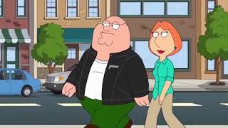 Family Guy - Stewie shaves Peter's head