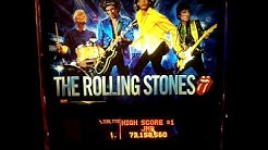 Rolling Stones pinball high scores @ Tinseltown movie theater in Jacksonville FL