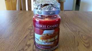 Yankee Candle Caramel Pecan Pie Candle Review