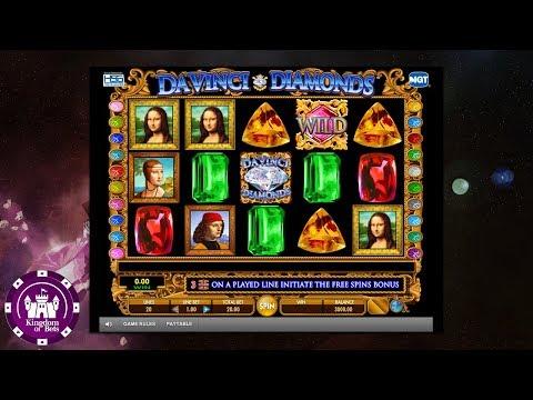 Da Vinci Diamonds online slot by IGT