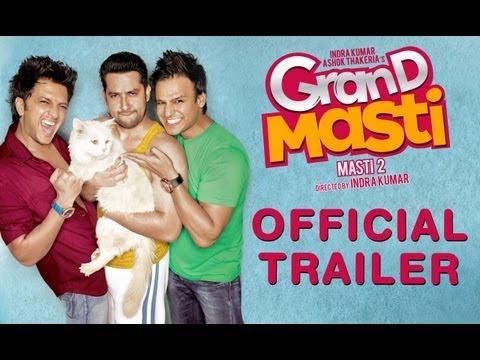 """Grand Masti Trailer"" Official Trailer   Riteish Deshmukh   Vivek Oberoi   Aftab Shivdasani"