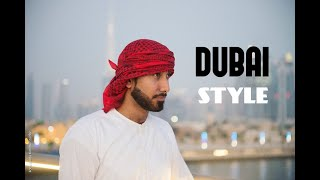 How to tie a shemagh/headscarf like omar borkan.