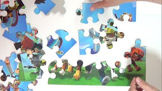 PAW PATROL unboxing puzzle series surprise Disney Collector