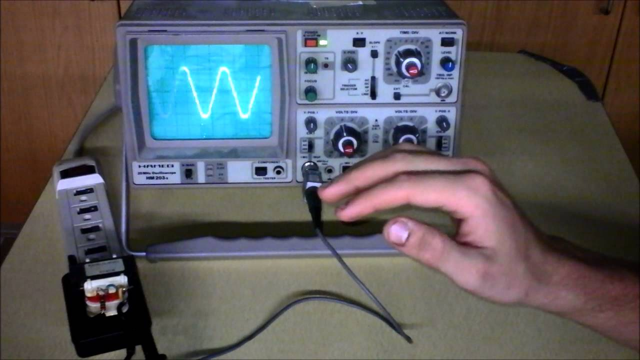 Measure Period Frequency Amp Amplitude On Oscilloscope