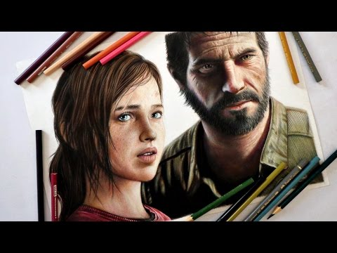 Speed Drawing: Ellie and Joel (The Last of Us)