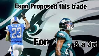 Eagles Rumors ESPN Proposed a Trade Between The Eagles And Lions