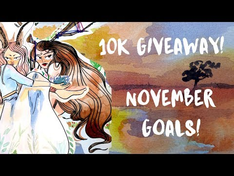 Painting Landscapes & 10,000 Subscriber Giveaway!