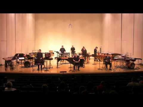 Stephen F. Austin State University Percussion Ensemble Concert (4/18/16)