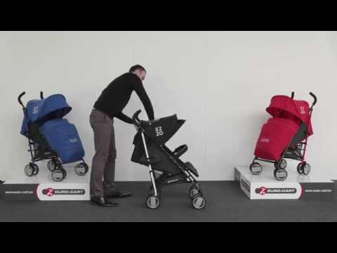 Euro-Cart Ezzo sport babakocsi - YouTube fe19c5d117