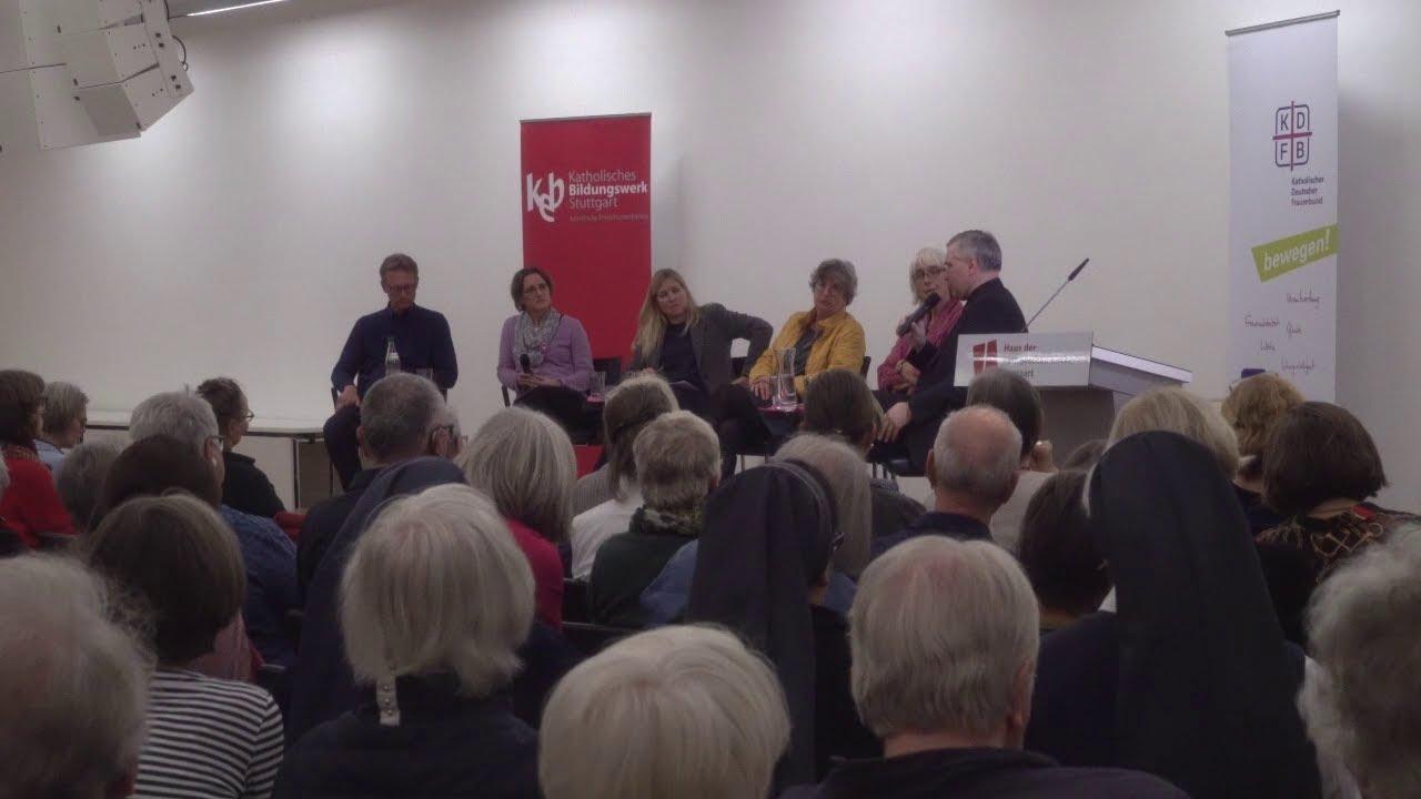 Zeit für Veränderung? Podium Maria 2.0 in Stuttgart
