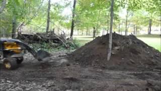 sc2450 yanmar moveing dirt