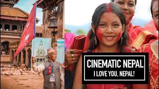 CINEMATIC NEPAL (I LOVE YOU, NEPAL) 🇳🇵 VLOG 65