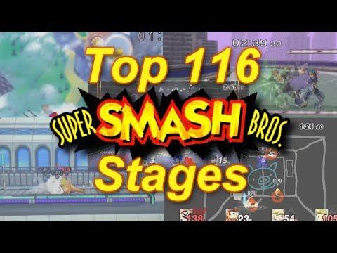 Top 116 Super Smash Bros. Stages