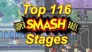 Top 116 Super Smash Bros. Stages