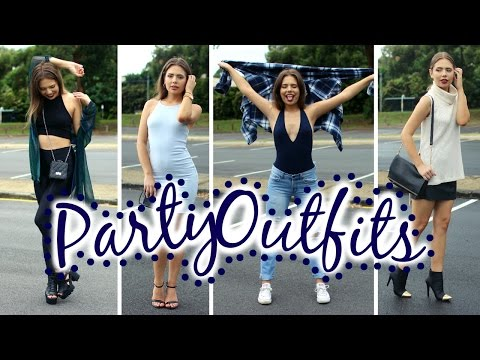 Night Out Outfit Ideas Lookbook | What to wear to a Party, Clubbing etc