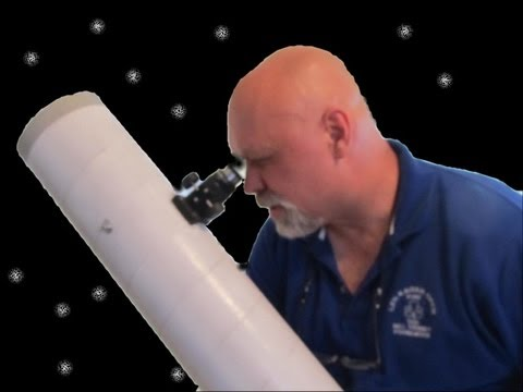 How to make a Reflector Telescope Part 2