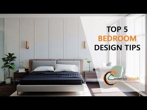 TOP 5 BEDROOM DESIGN IDEAS/TIPS OF 2019 BY INTERIOSPLASH / BANGALORE