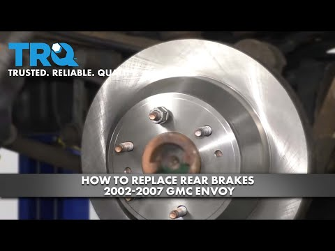 How to Replace Rear Brakes 2002-07 GMC Envoy