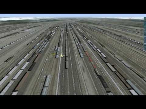 001 Trainz North Platte Update 01.  The Start