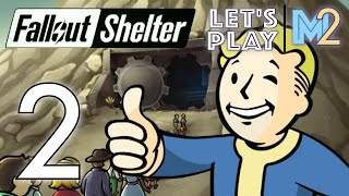 Fallout Shelter - Quest, Ghoul Grandparents, Radscorpions (Let's Play Part 2)