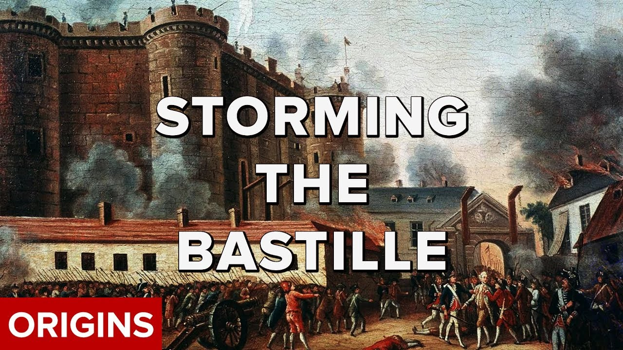 what was the storming of the bastille