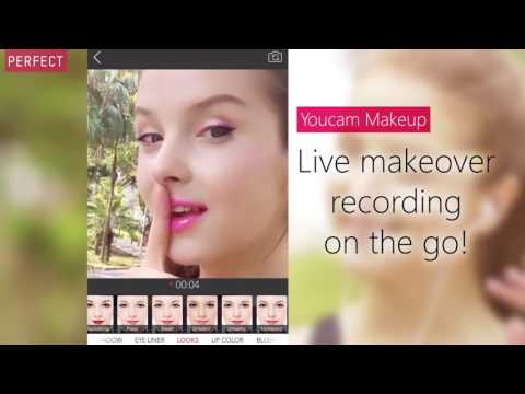 [YouCam Makeup] Easy tip for you to take a perfect video/selfie when you workout!
