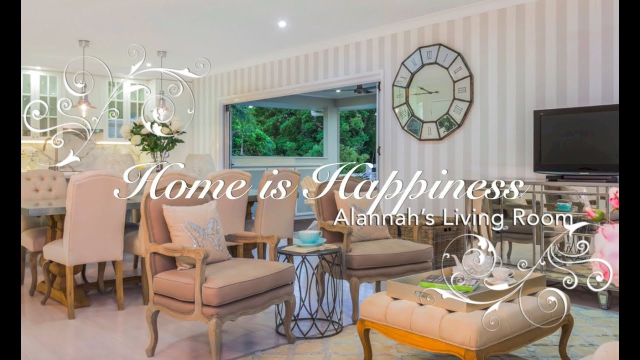french provincial living rooms paint colours for room styling a home is happiness youtube