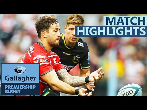 Gloucester Rugby v Northampton Saints | Cipriani Weaves His Magic On Debut | Gallagher Premiership