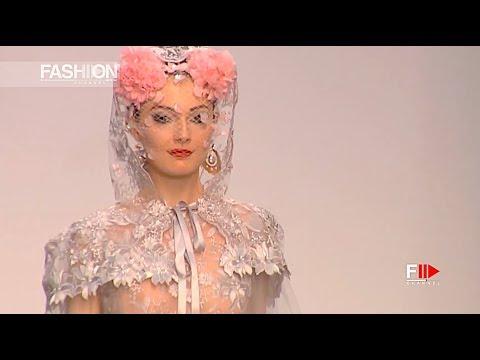 JUAN CARLOS ARMAS Frida Full Show Spring Summer 2018 Madrid Bridal Week - Fashion Channel