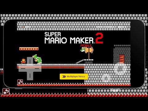 Super Mario Maker 2 Mobile | SIMULATION | Multiplayer Versus Network Play Update | @Thenocs