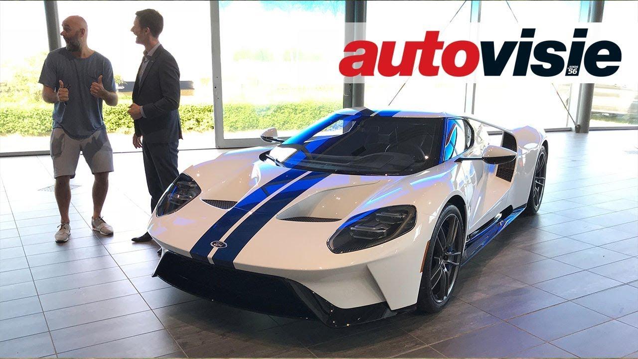 Ford Gt Van Dj Afrojack In Nederland Afgeleverd Youtube