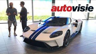 Ford GT van dj Afrojack in Nederland afgeleverd