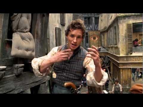 On Set with Eddie Redmayne •Les Misérables•