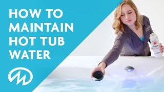 HOW TO ... Balance Hot Tub Water Chemicals