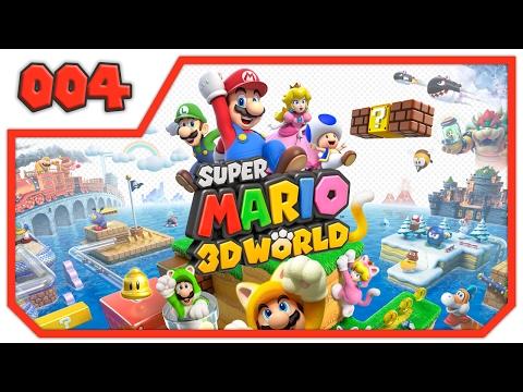 Let's Play Super Mario 3D World - Part 4 - Passend zum Wetter [Deutsch/German]