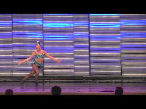 """Really Don't Care"" - Taylor's Elite solo - WCDE Nationals 2015"