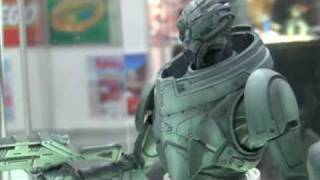 Square Enix Products @ New York Toy Fair 2012 - Mass Effect 3 Play Arts -Kai-