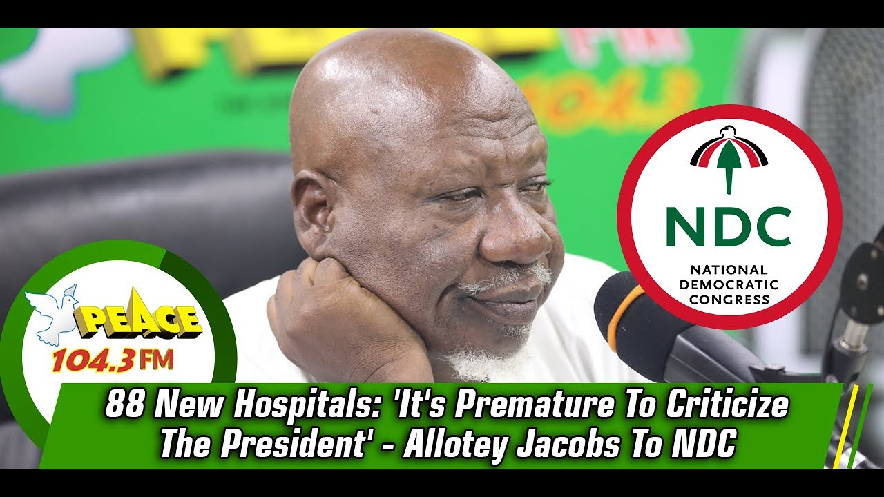 Allotey Jacobs suspended at NDC but still remains truthful to partyas he responds to the suspension.