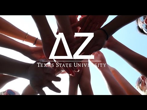 Texas State Delta Zeta Recruitment 2016