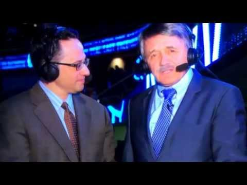 Chico Resch retires as NJ Devils color commentator - 4/11/14