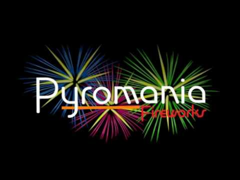 Wedding Pyromusical Fireworks Display by Pyromania Fireworks at Down Hall